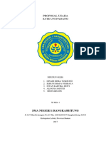 Proposal Usaha Sate Padang