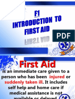 1- Intro First Aid