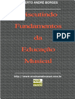 Discutindo Fundamentos Da Educacao Musical