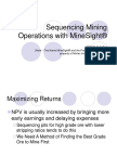 Sequencing Mining Operations With MineSight (3)