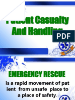 2- Patient Casualty and Handling