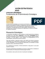 Administración Estrategica II