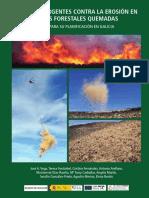 Guía de acciones urgentes contra la erosión en áreas forestales quemadas