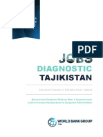 Tajikistan Jobs Diagnostic Strategic Framework for Jobs-RU