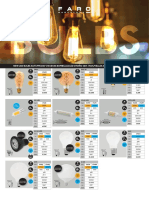 201710 Faro Novedades y Bulbs 2017 Pvp