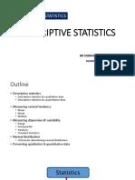 2 Descriptive Statistics
