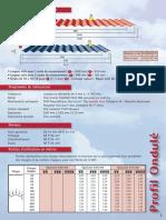 PG Profil Ondule Acier