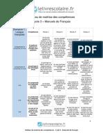 Parcours de Compétences - FR Cycle 3 (4)