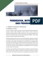5. Dok. Penawaran Teknis Bab e Pendekatan Dan Metodologi
