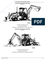 310E, 310SE and 315SE Backhoe Loaders- Introduction