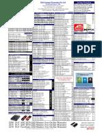 Pricelist 2011 (New) 1308