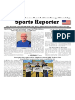 October 18 - 24, 2017  Sports Reporter