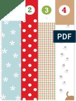 Mrprintables Christmas Advent Calendar Roll Up