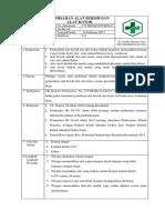 8.6.1.2 Sop Pemisahan Alat Bersih Dan Alat Kotor
