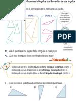 Clasificacion de Los Triangulos Por La Medida de Sus Angulos (1)