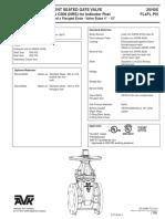 AVK 25 _40X FL x FL Post Indicator Valve