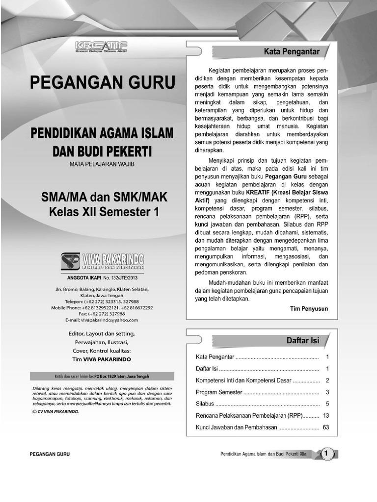Kunci Jawaban Lks Viva Pakarindo Kurikulum 2013 Kelas 12 Kumpulan Soal