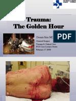 TRAUMA the Golden Hour