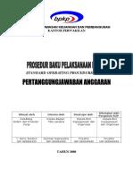 Prosedur Pertanggungjawaban Anggaran