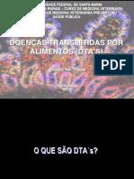 TOXINFECÇÕES ALIMENTARES