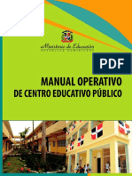 Manual Operativo de Centro Educativo Publico-