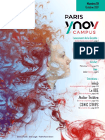 Gazette Paris YNOV Campus Octobre
