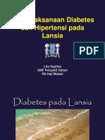 Diabetes Dan Hipertensi Pada Geriatri
