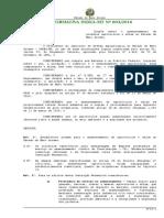 Instrução Normativa N.º 003 de 21-9- 2016 ARM