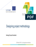 2016-03-23 Designing Project Methodology