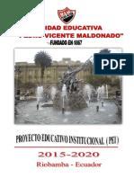 PROYECTO1 EDUCATIVO INSTITUCIONAL (PEI) UEPVM 2015-2020.doc