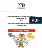 Change Management Toolkit 2016