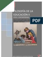 ANTOLOGIA FILOSOFIA DE LA EDUCACIÓN II universidad vizcaya
