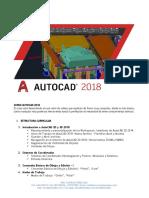Curso AutoCAD 2018