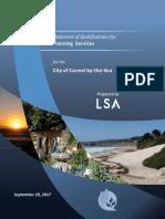 LSA Associates, Inc.- Planning Services_Redacted