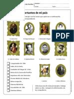 Personajes Importantes Chile