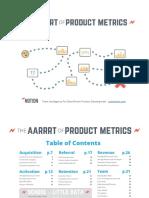 The AARRRT of Product Metrics