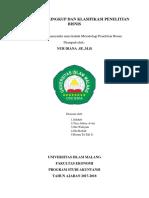 Bab III Lingkup Dan Klasifikasi Penelitian Bisnis 1