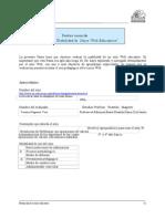 Pautas de Evaluacion 1 y 2 -Juego La Oca.