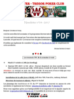 Newsletter n°34 - 2017 (15 octobre 2017)