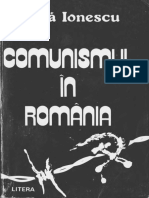 Ghita Ionescu Comunismul in Romania carte completa