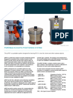 Data Sheet - ΜPAP - Portable Acoustic Positioning System - Updated