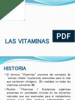 1 Las Vitaminas