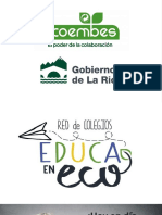 EDUCAenECO 2017 Dossier Informativo Para Centros Educativos