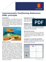 Data Sheet - HPR 410, Hydroacoustic Position Reference System - SSBL