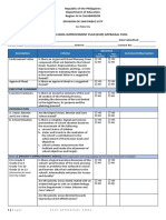 Esip Appraisal and Review Tool 2