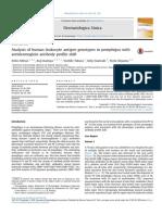 Analysis of Human Leukocyte Antigen Genotypes in Pemphigus 2016 Dermatologi
