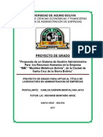 PROYECTO DE GRADO PROPUESTA DE UN SISTEMA DE GESTION ADMINISTRATIVA PARA LOS RECURSOS HUMANOS EN LA EMPRESA MUEBLES METALICOS BOLIVIA.pdf
