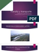 Transito y Transporte DIAPOSITIVAS