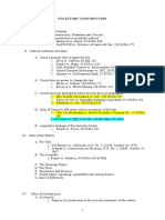 Statutory Construction (1st Sem 2010)