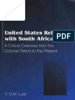 United States Relations with South Africa